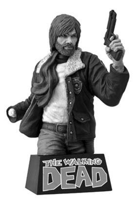 Imagen de The Walking Dead Hucha Rick Grimes Black & White 20 cm