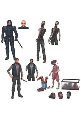 Imagen de The Walking Dead Comic Version Serie 2 Caja de 12 Figuras 15 cm
