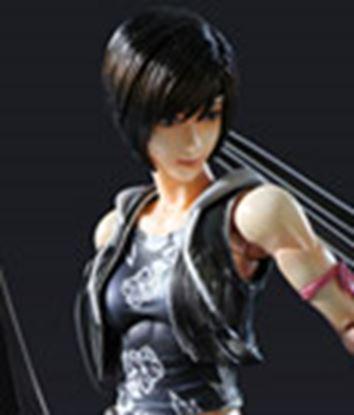 Imagen de Final Fantasy VII Advent Children Play Arts Kai Figura Yuffie Kisaragi