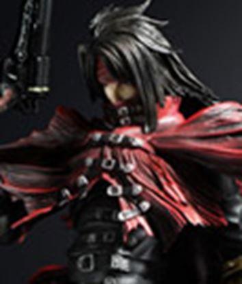 Imagen de Final Fantasy VII Play Arts Kai Figura Vincent Valentine