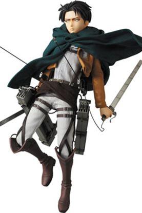 Imagen de Attack on Titan Figura RAH 1/6 Levi 30 cm