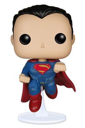 Imagen de Batman v Superman POP! Heroes Vinyl Figura Superman 9 cm