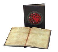 Imagen de Juego de Tronos Libreta con luz Targaryen