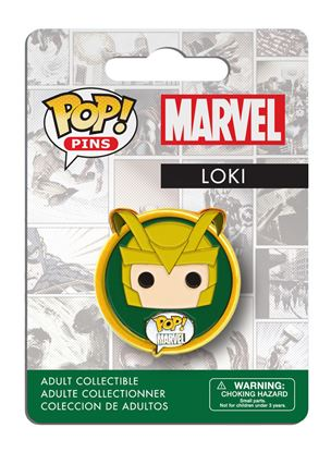 Imagen de Marvel Comics POP! Pins Chapa Loki