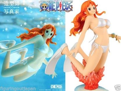 Imagen de One Piece Nami swimsuit bikini Banpresto Creator x Creator