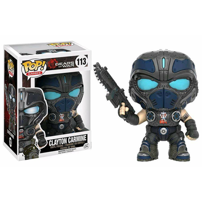 Imagen de Gears of War POP! Games Vinyl Figura Clayton Carmine 9 cm