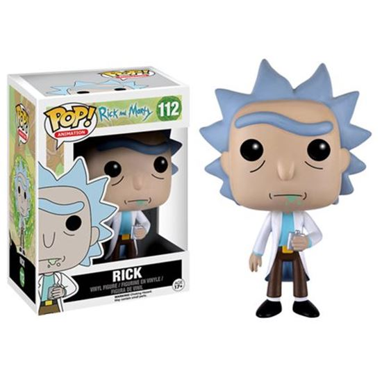 Foto de Rick y Morty POP! Animation Vinyl Figura Rick 9 cm