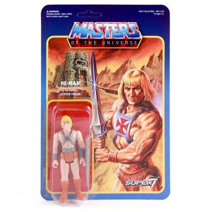 Imagen de Masters del Universo ReAction Figura He-Man 10 cm
