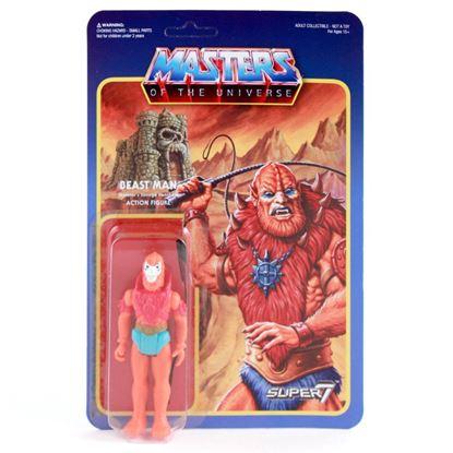 Imagen de Masters del Universo ReAction Figura Beast Man 10 cm