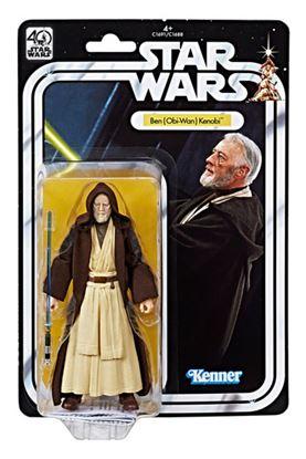 Imagen de Star Wars 40th Anniversary Black Series Figuras 15 cm Obi-Wan Kenobi