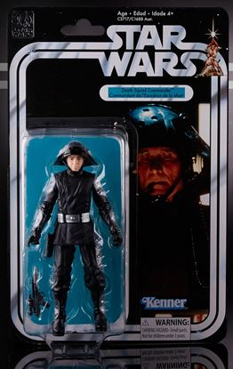 Imagen de Star Wars 40th Anniversary Black Series Figuras 15 cm Death Squad Commander