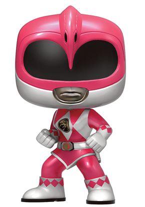 Imagen de Power Rangers Figura POP! Television Vinyl Pink Ranger Metallic Limited 9 cm