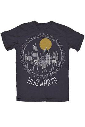 Imagen de Camiseta Chico Hogwarts Talla S