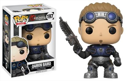 Imagen de Gears of War POP! Games Vinyl Figura Damon Baird 9 cm