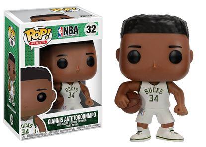 Imagen de NBA POP! Sports Vinyl Figura Giannis Antetokounmpo (Milwaukee Bucks) 9 cm