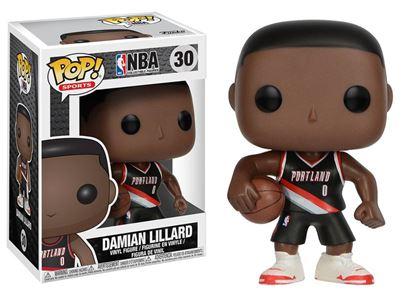 Imagen de NBA POP! Sports Vinyl Figura Damian Lillard (Portland Trail Blazers) 9 cm