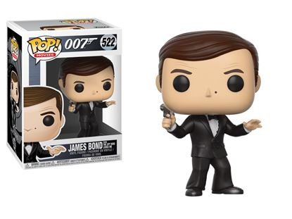 Imagen de James Bond POP! Movies Vinyl Figura Roger Moore 9 cm.