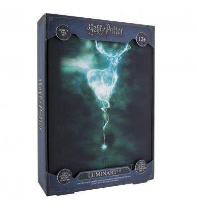 Imagen de Cuadro con Luz Expecto Patronus - Harry Potter