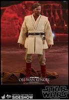 Foto de Star Wars Episode III Figura Movie Masterpiece 1/6 Obi-Wan Kenobi Deluxe Version 30 cm