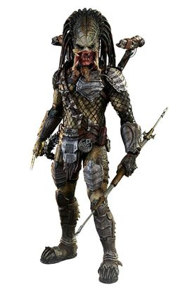 Imagen de Alien vs. Predator 2 Figura Movie Masterpiece 1/6 Wolf Predator (Heavy Weaponry) 35 cm