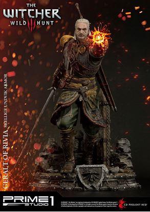 Imagen de Witcher 3 Wild Hunt Estatua 1/4 Geralt of Rivia Skellige Undvik Armor 58 cm