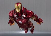 Foto de Iron Man 3 Figura S.H. Figuarts Iron Man Mark VII & Hall of Armor Set 15 cm
