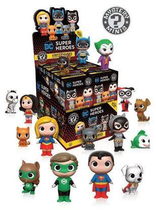 Imagen de DC Comics Heroes & Pets Minifiguras Mystery Minis Exclusive 5 cm PRECIO POR CAJA INDIVIDUAL DE 5CM
