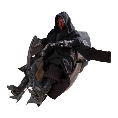 Imagen de Star Wars Episode I Figura DX Series 1/6 Darth Maul & Sith Speeder 29 cm