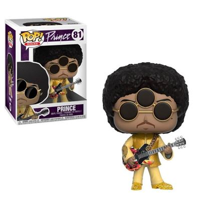 Imagen de Prince Figura POP! Rocks Vinyl 3rd Eye Girl 9 cm