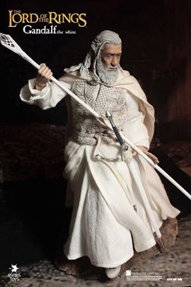 Imagen de El Señor de los Anillos Figura 1/6 Gandalf the White 30 cm