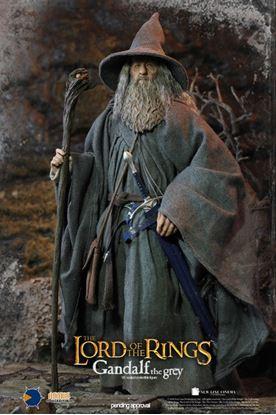 Imagen de El Señor de los Anillos Figura 1/6 Gandalf the Grey 30 cm