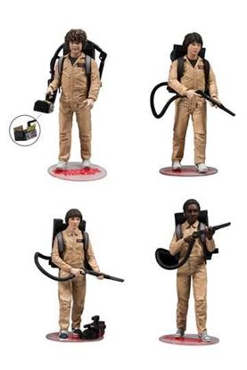 Imagen de Stranger Things Pack de 4 Figuras Ghostbusters 15 cm