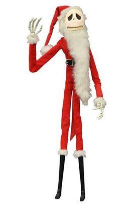 Imagen de Pesadilla antes de Navidad Figura Santa Jack Coffin Doll Unlimited Edition 41 cm