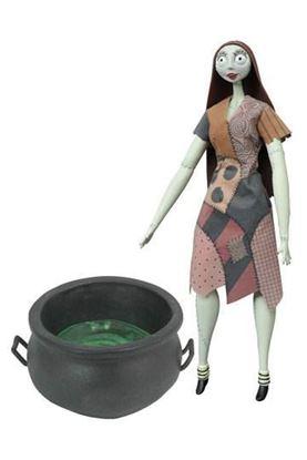 Imagen de Pesadilla antes de Navidad Figura Cauldron Sally Deluxe Coffin Doll 36 cm