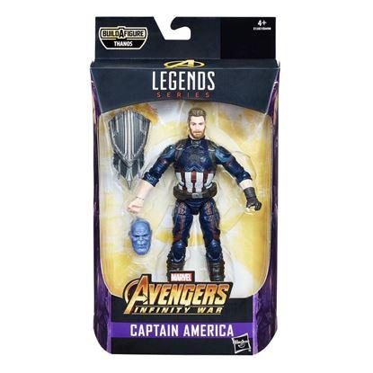 Imagen de Marvel  Legends Figura Captain America (Avengers: Infinity War) 15 cm