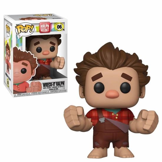 Foto de Wreck-It Ralph 2 POP! Movies Vinyl Figura Wreck-It Ralph 9 cm