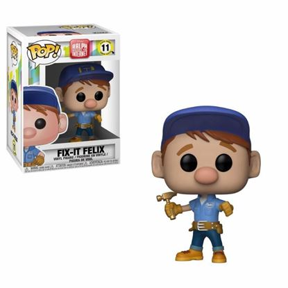 Imagen de Wreck-It Ralph 2 POP! Movies Vinyl Figura Fix-It Felix 9 cm