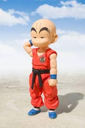 Imagen de Dragon Ball Figura S.H. Figuarts Krillin (Early Years) 10 cm
