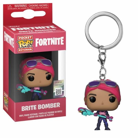Foto de Fortnite Llavero Pocket POP! Vinyl Brite Bomber 4 cm DISPONIBLE APROX: FEBRERO 2019