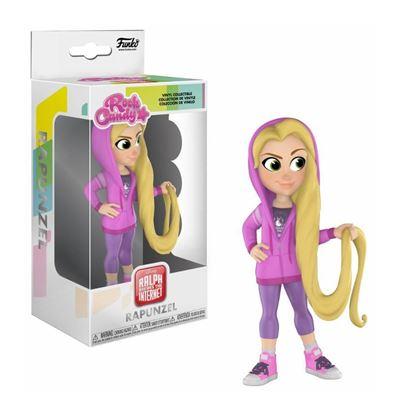 Imagen de Ralph rompe Internet Rock Candy Vinyl Figura Rapunzel 13 cm