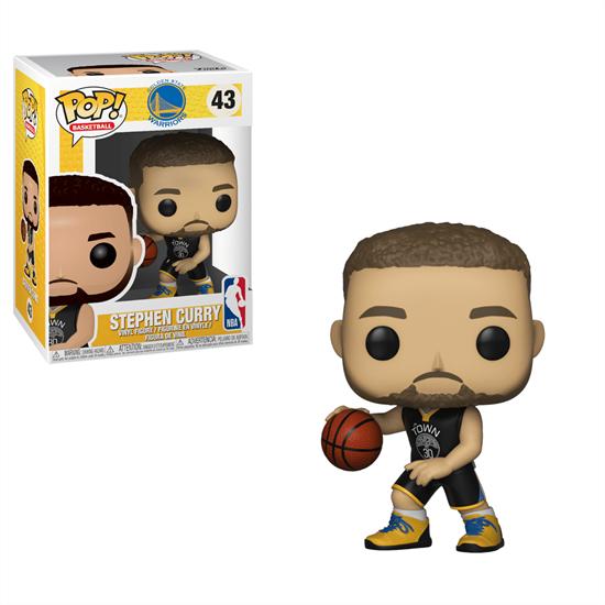 Foto de NBA POP! Sports Vinyl Figura Stephen Curry (Warriors) 9 cm.