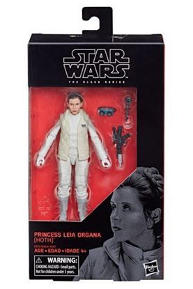Imagen de Star Wars Black Series Figura 2018  Princess Leia Organa Hoth 15 cm