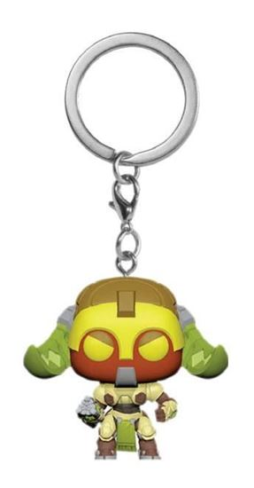 Foto de Overwatch Llavero Pocket POP! Vinyl Orisa 4 cm. DISPONIBLE APROX: MAYO 2019
