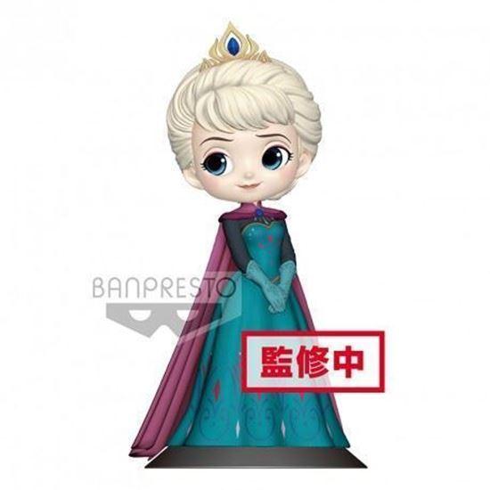 Foto de Figura Q Posket Elsa Coronación (Pastel Colour Version) 14 cm. DISPONIBLE APROX: ABRIL 2019