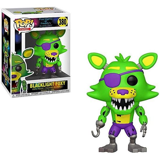 Foto de Five Nights at Freddy's Blacklight POP! Games Vinyl Figura Blacklight Foxy 9 cm